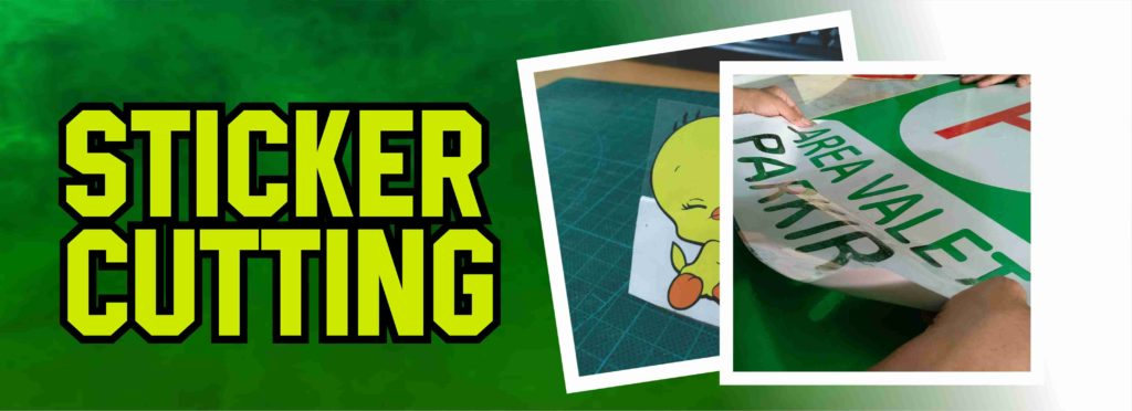 Sticker Cutting Serpong