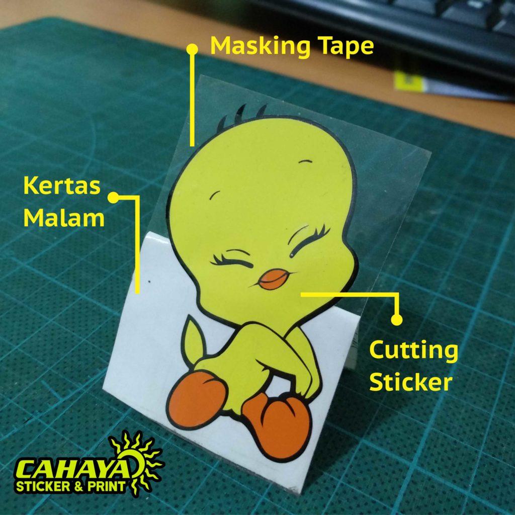 Sticker Cutting Serpong